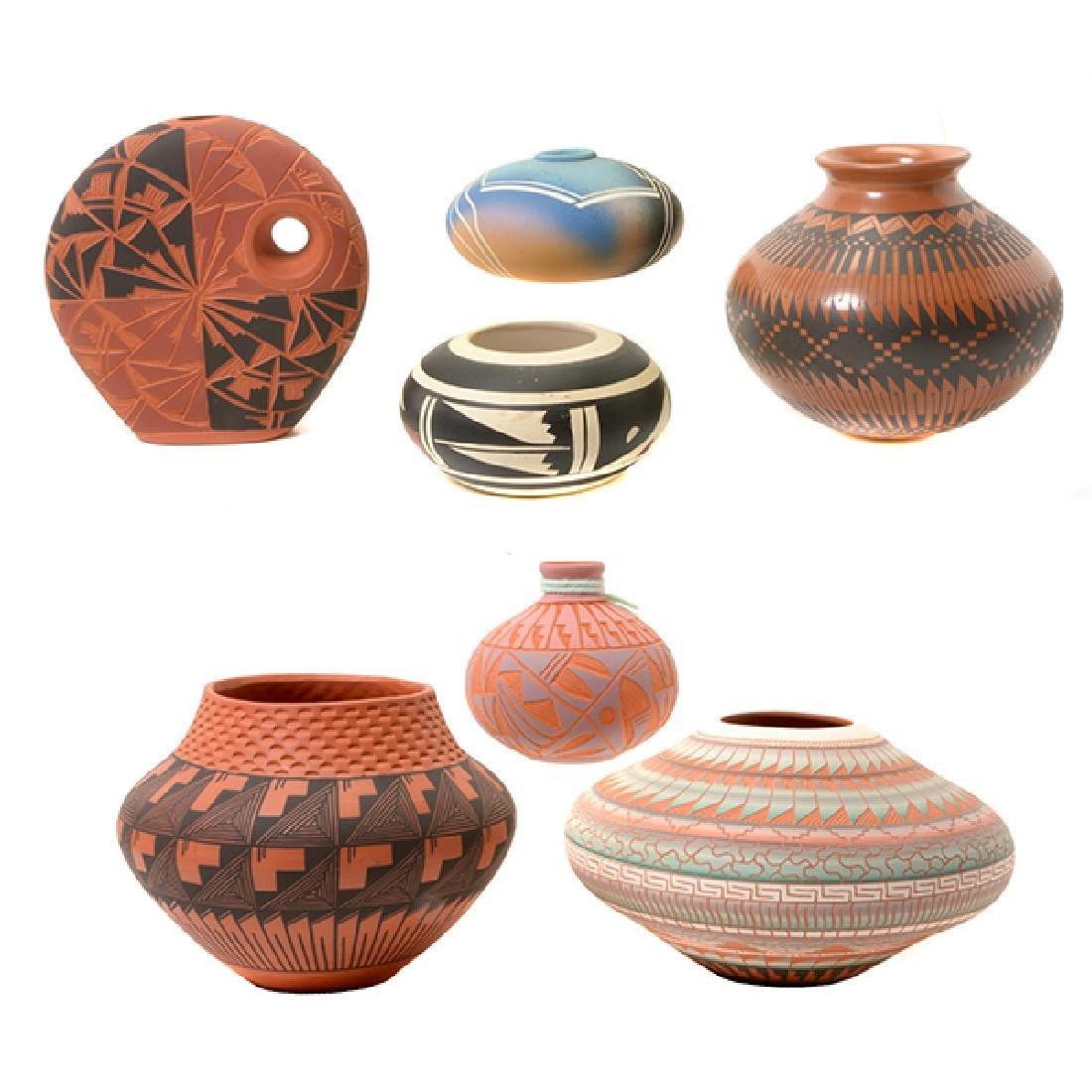 Seven Modern American Indian Vessels