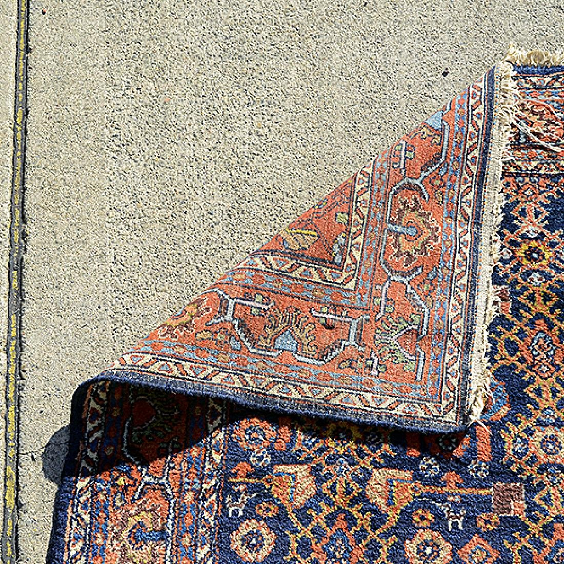 Hamadan Rug: 4 feet 5 inches x 6 feet 9 inches - 3