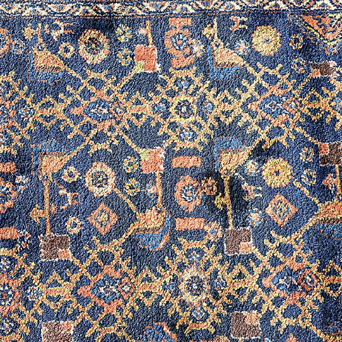 Hamadan Rug: 4 feet 5 inches x 6 feet 9 inches - 4