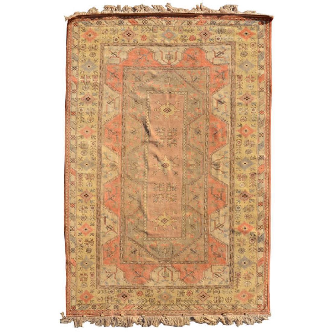Turkish Wedding Carpet: 8 feet 2 inches x 11 feet 10