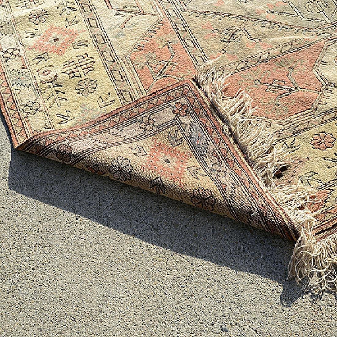 Turkish Wedding Carpet: 8 feet 2 inches x 11 feet 10 - 3