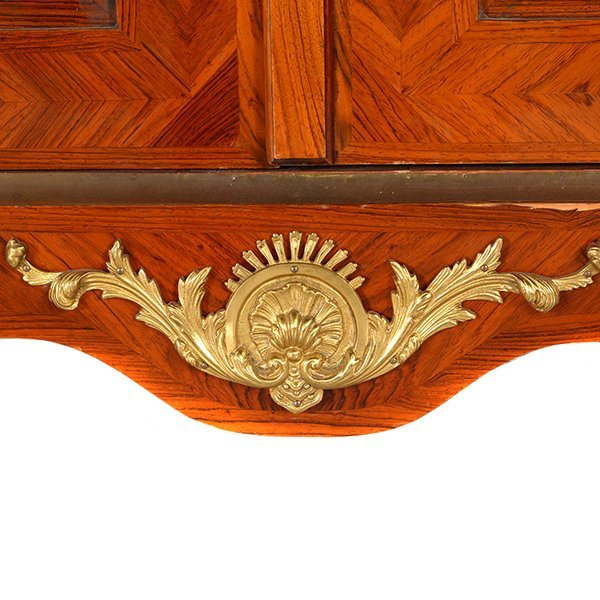 Contemporary French Style Inlaid Bookcase - 3