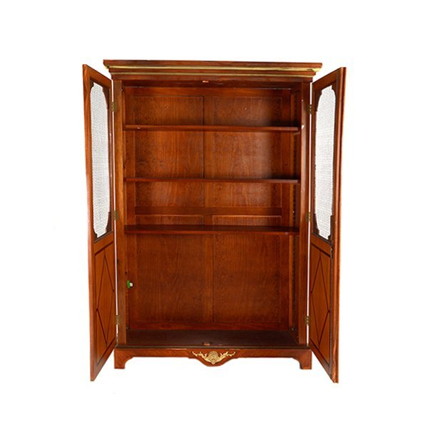 Contemporary French Style Inlaid Bookcase - 4