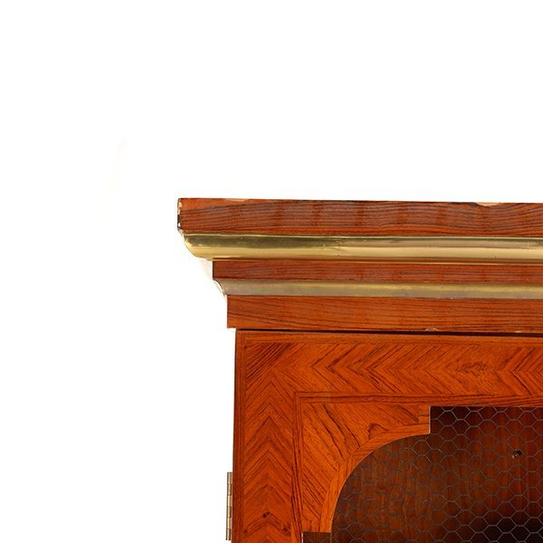 Contemporary French Style Inlaid Bookcase - 5