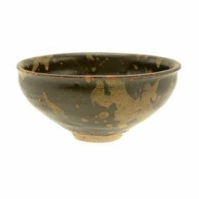 Cizhou Style Black Glazed Stoneware Tea Bowl, Song P.