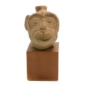 Khmer Banteay Srei Sandstone Carving, 10th Century