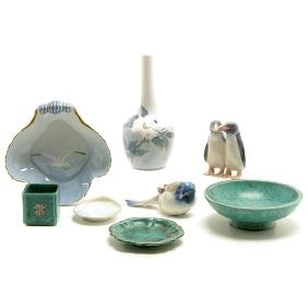 Collection of Swedish and Danish Pottery Articles