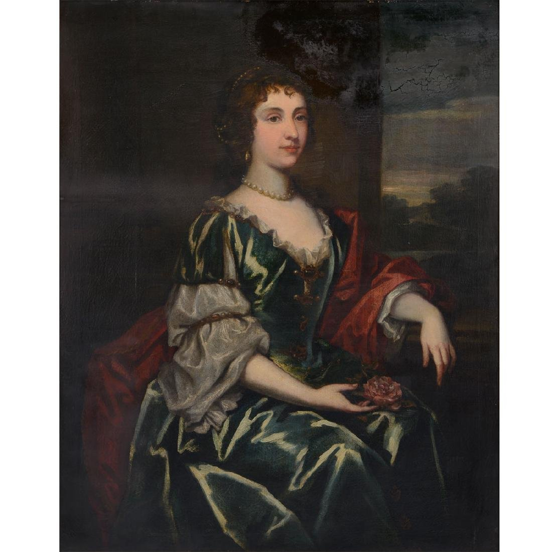 "After Sir Peter Lely ""Portrait of a Noblewoman"""