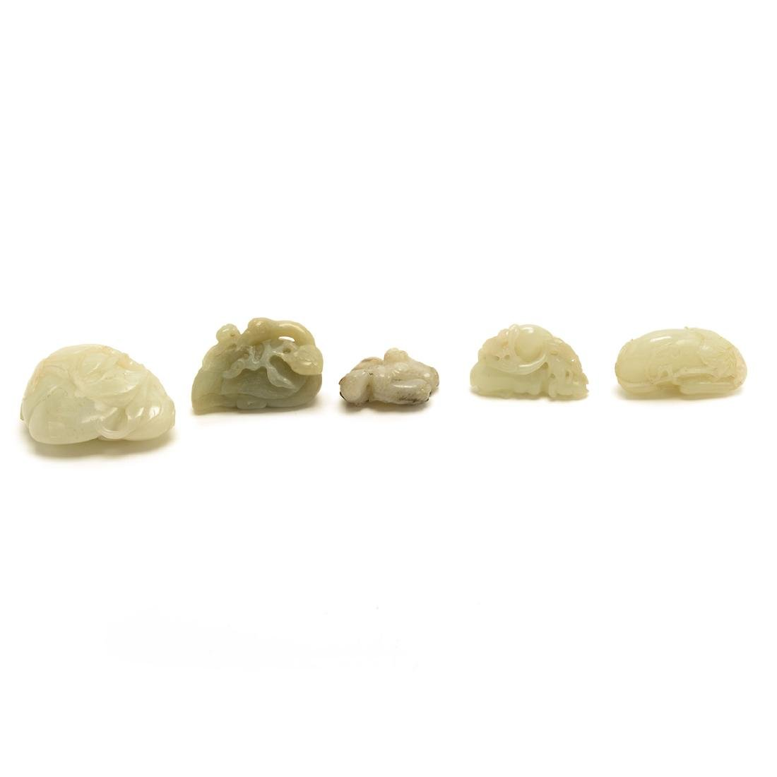 Five Jade Toggles, Qing Dynasty