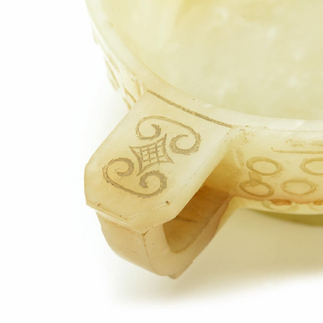 Two Jade Libation Cups, 18th Century - 10