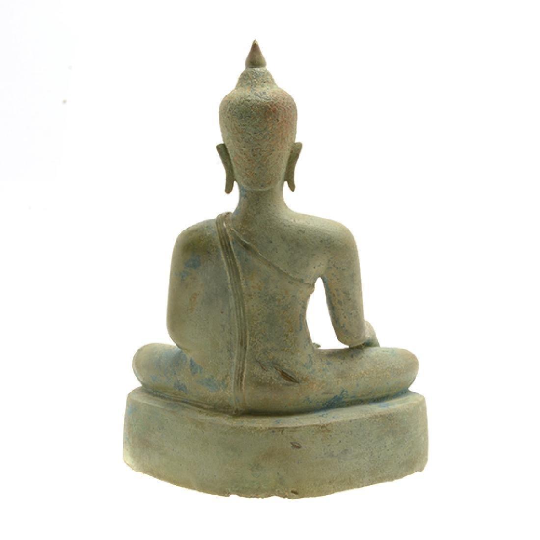 Thai Bronze Figure of Buddha, Sukhothai Period (15th - 3