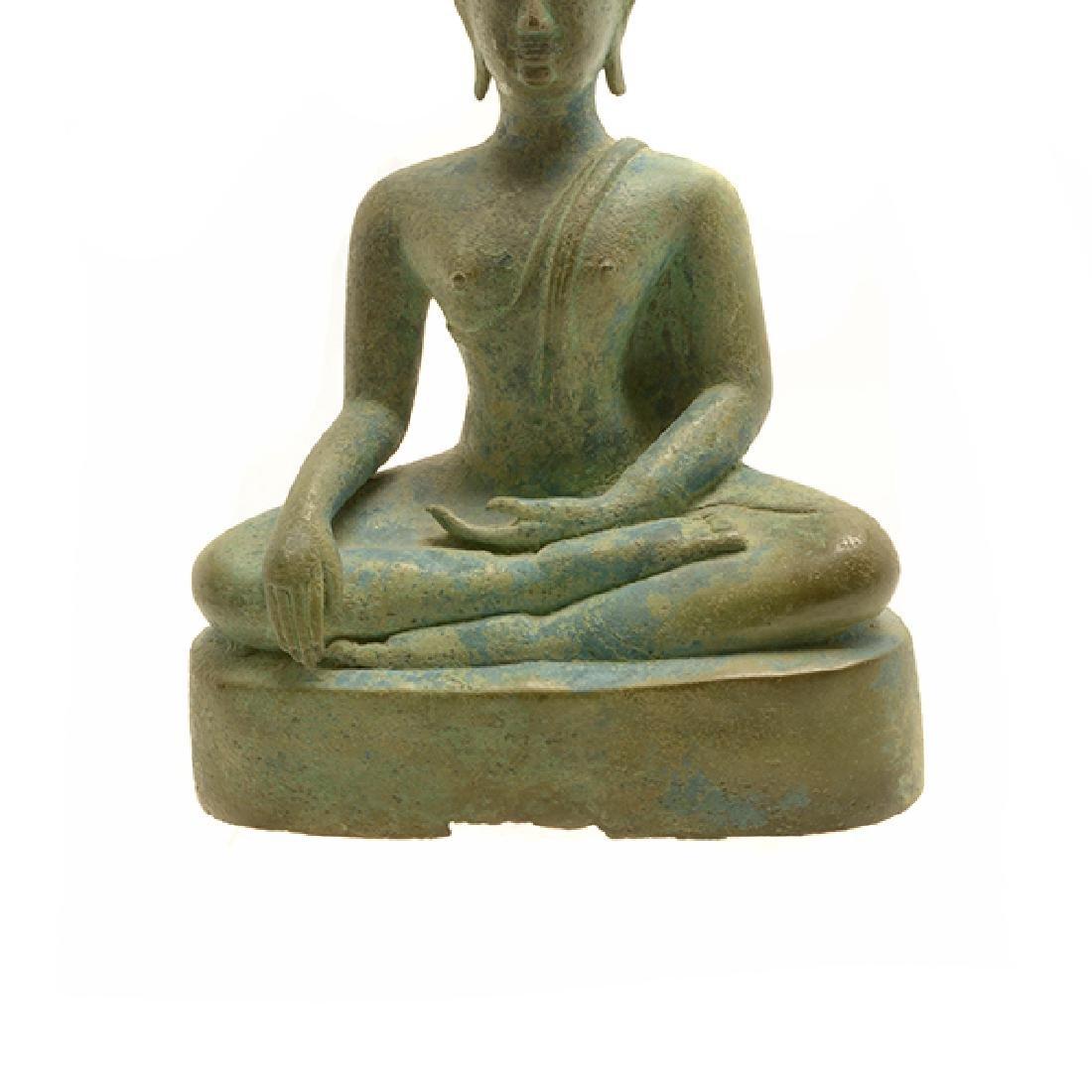 Thai Bronze Figure of Buddha, Sukhothai Period (15th - 7