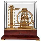 French Automaton Water Wheel Clock
