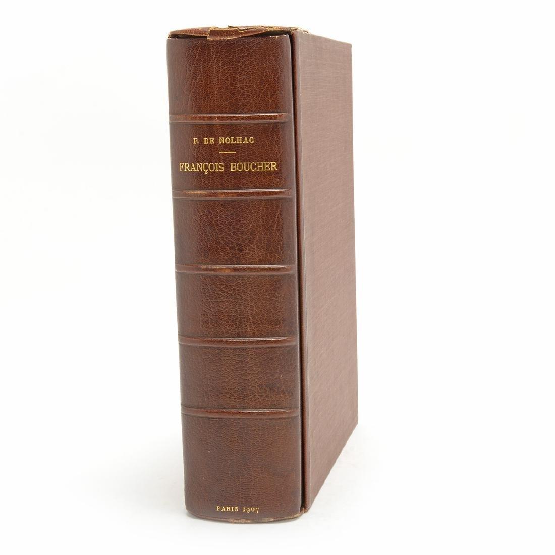 Francois Boucher Catalogue Raisonné in Intaglio Prints