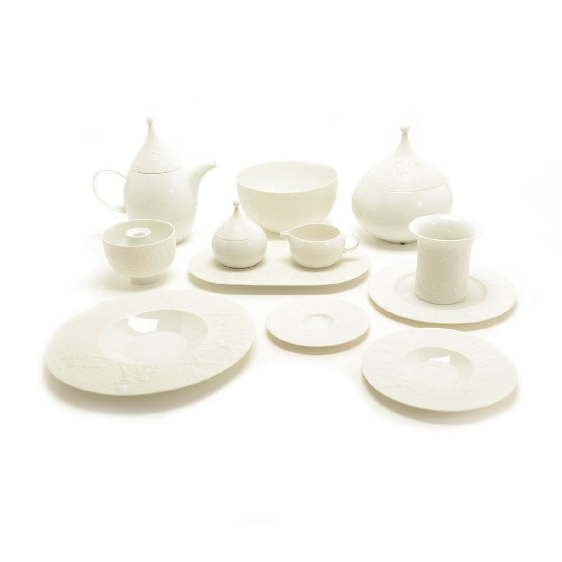 """Rosenthal """"Magic Flute"""" Porcelain Dinner Service"""