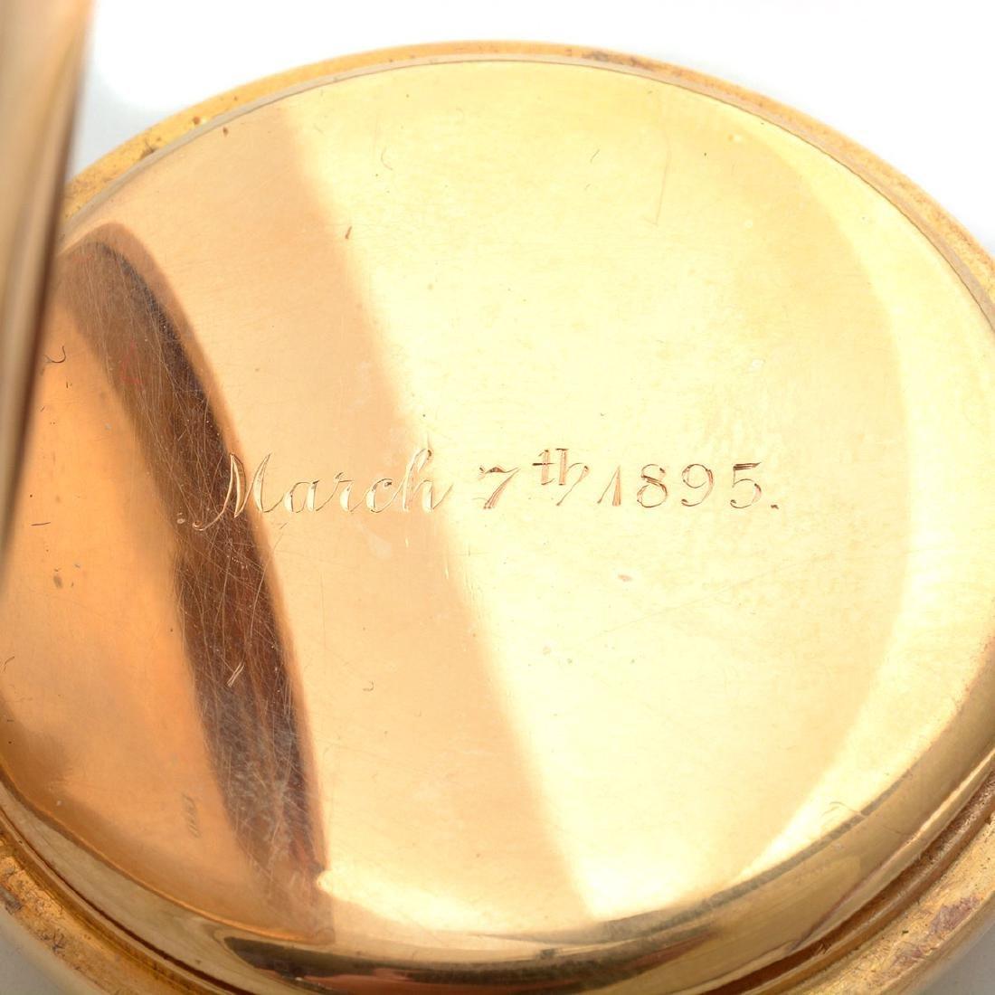 W.K. Vanderslice & Co. 18k Yellow Gold Minute Repeater - 5
