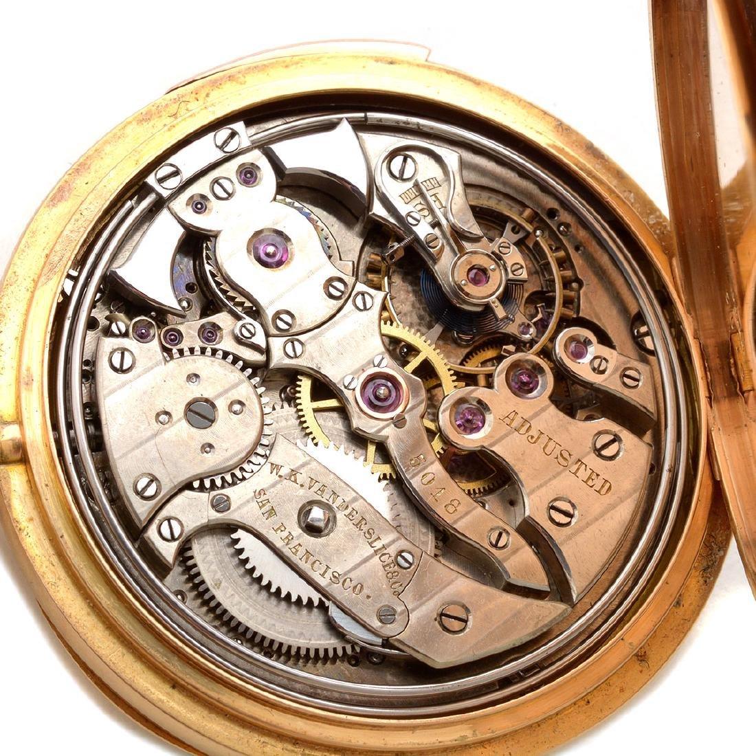 W.K. Vanderslice & Co. 18k Yellow Gold Minute Repeater - 6