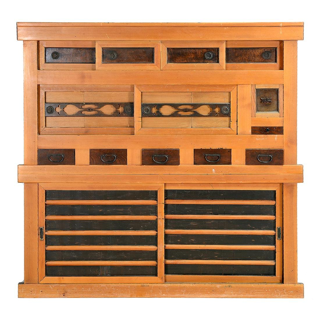 Large Japanese Tansu