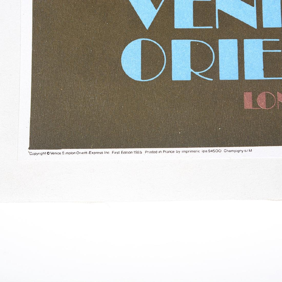 After Pierre Fix-Masseau 2 lithograph posters of Venice - 4