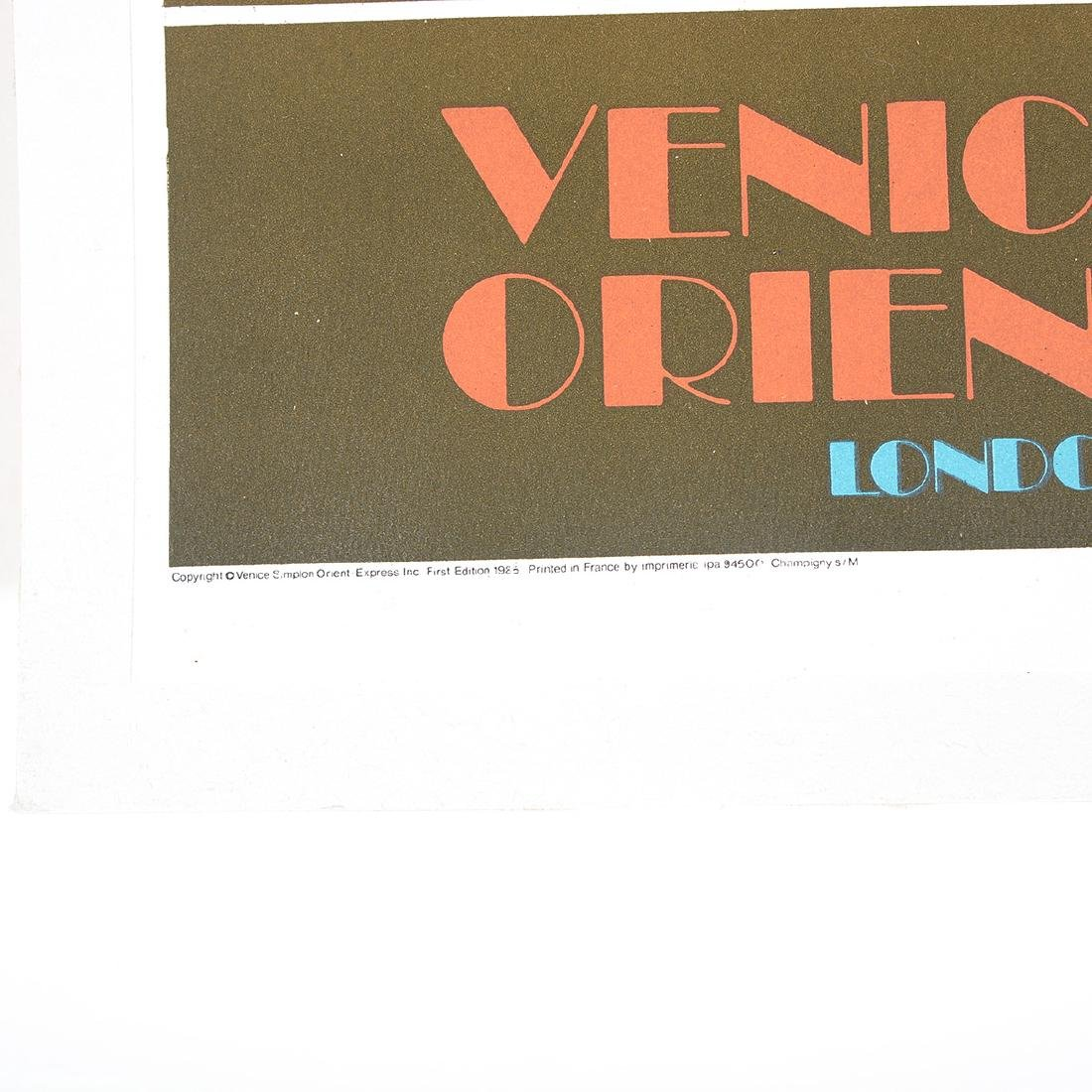 After Pierre Fix-Masseau 2 lithograph posters of Venice - 5