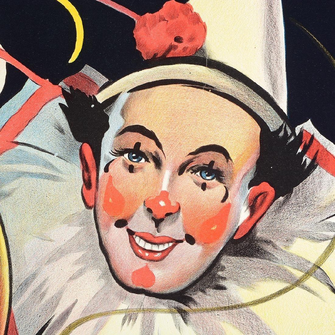 European lithograph posters Circus Stock & Cig. Leo - 3