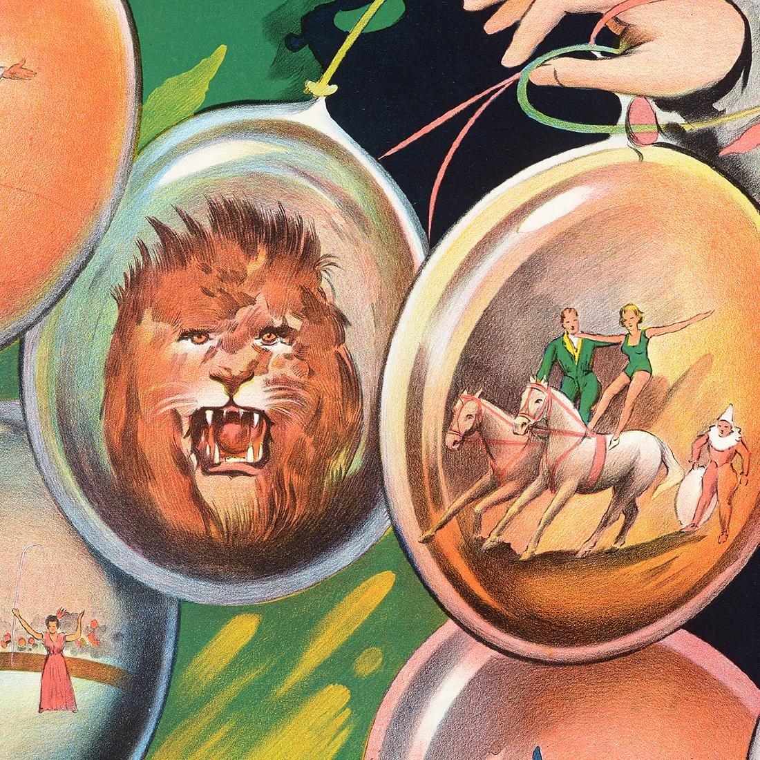 European lithograph posters Circus Stock & Cig. Leo - 4