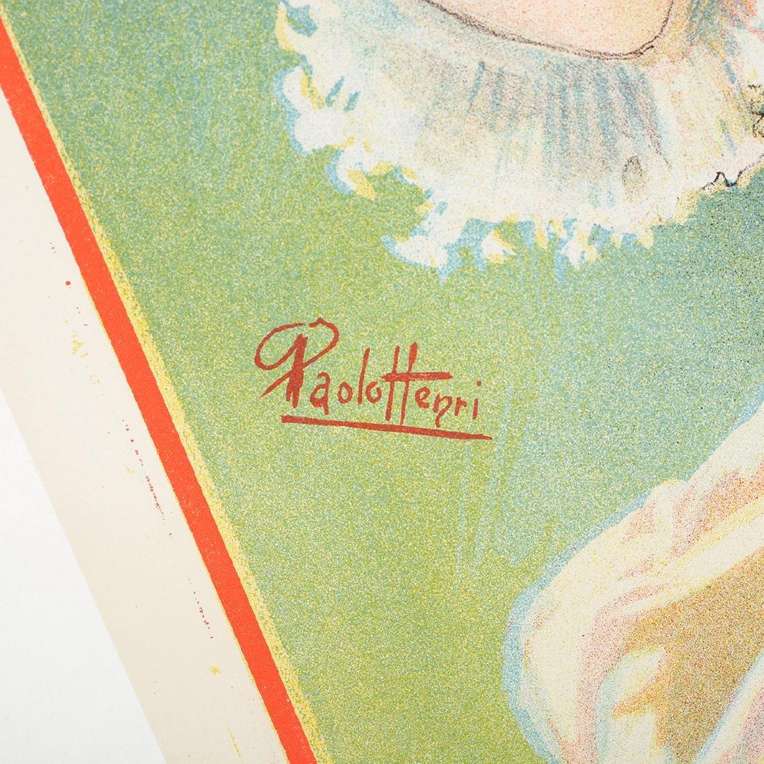 "After Paolo Henri ""Parfumeri Manon"" lithograph poster - 2"