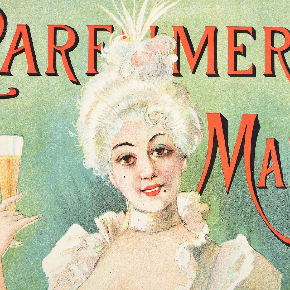 "After Paolo Henri ""Parfumeri Manon"" lithograph poster - 3"