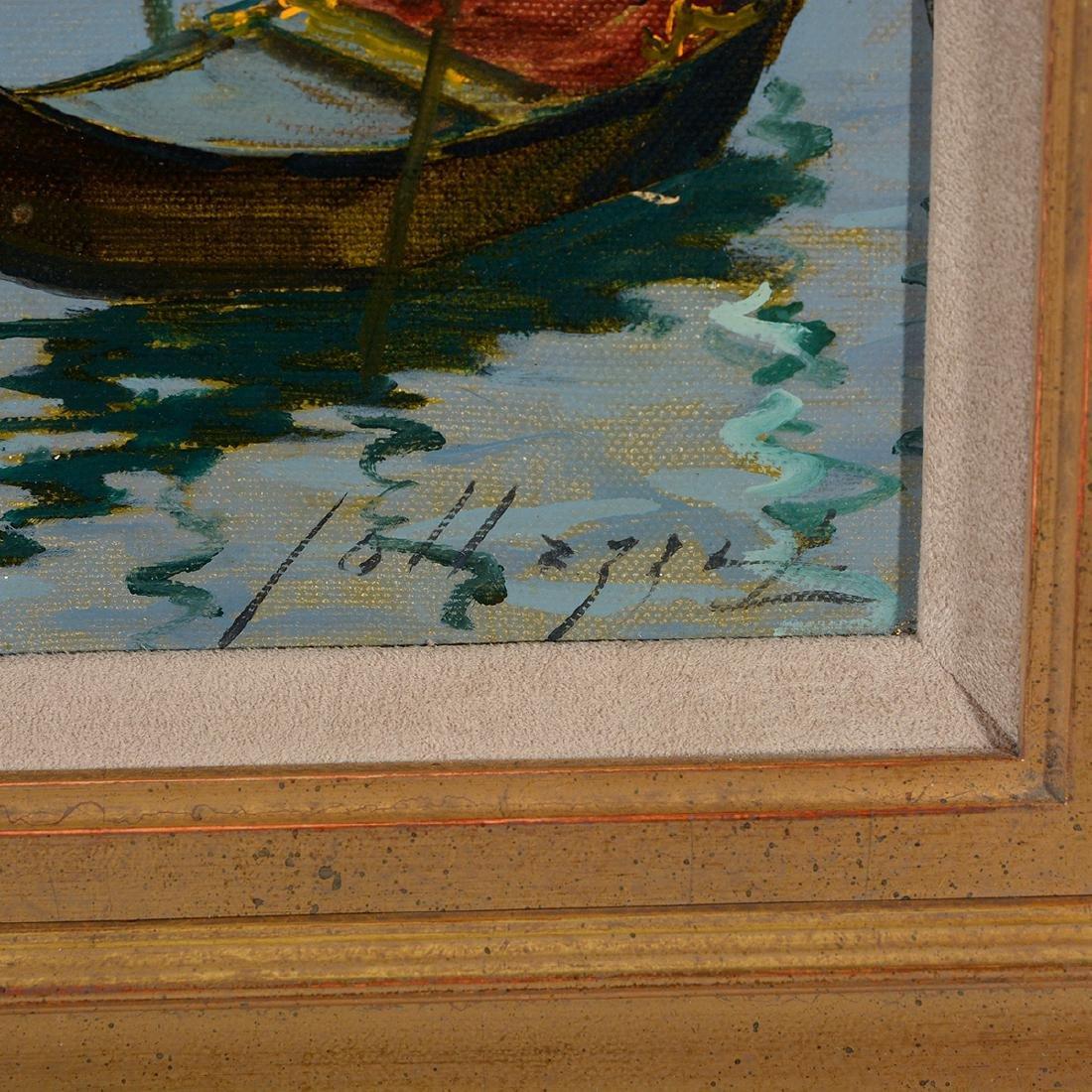 """Lucio Sollazzi """"Madona Dell Salute"""" oil on canvas - 2"""