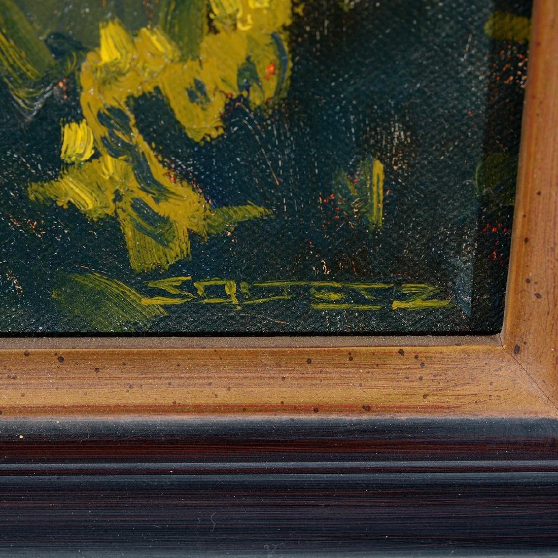 """J. thomas Soltesz """"Black Mountain Ranch"""" oil on canvas - 2"""