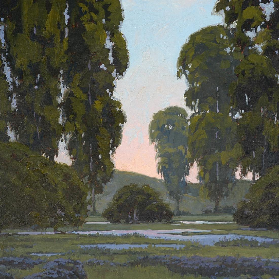 "J. Thomas Soltesz ""Evening Reflections"" oil on canvas - 3"