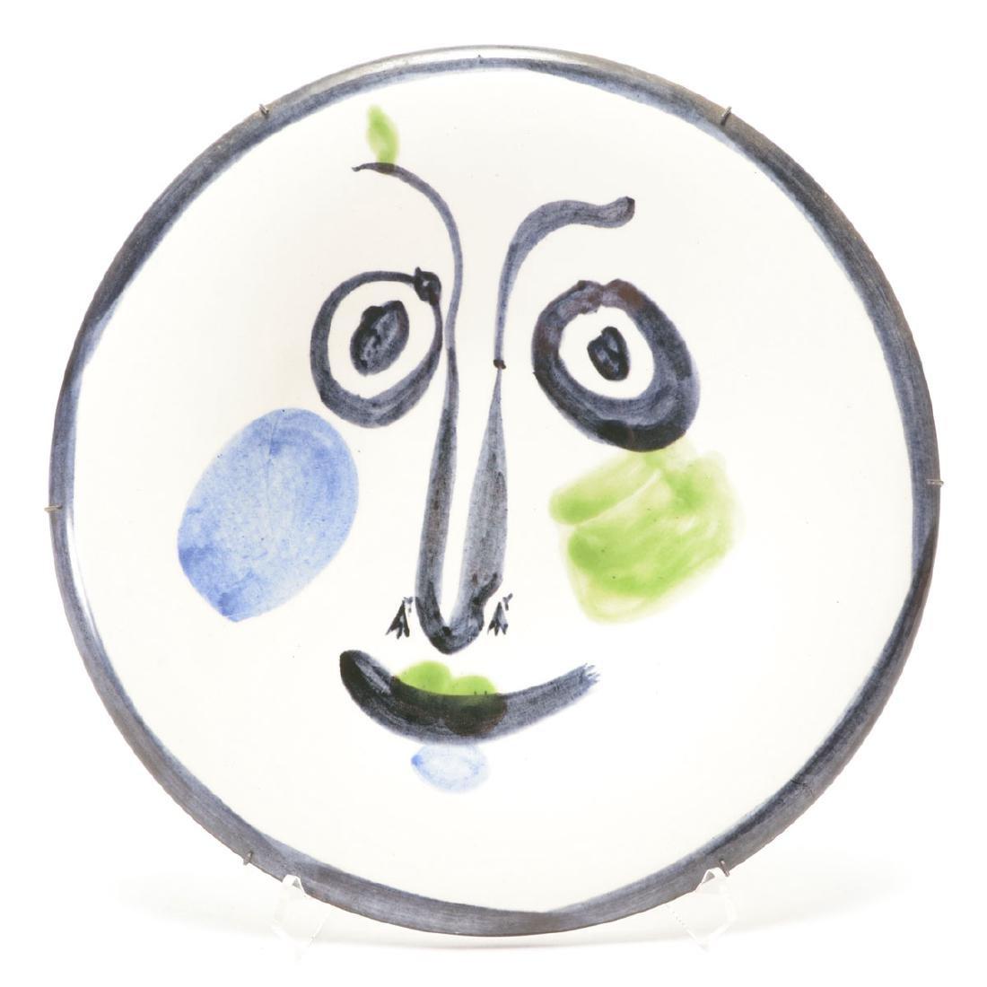 Pablo Picasso, Face No. 197, Madoura 115/300
