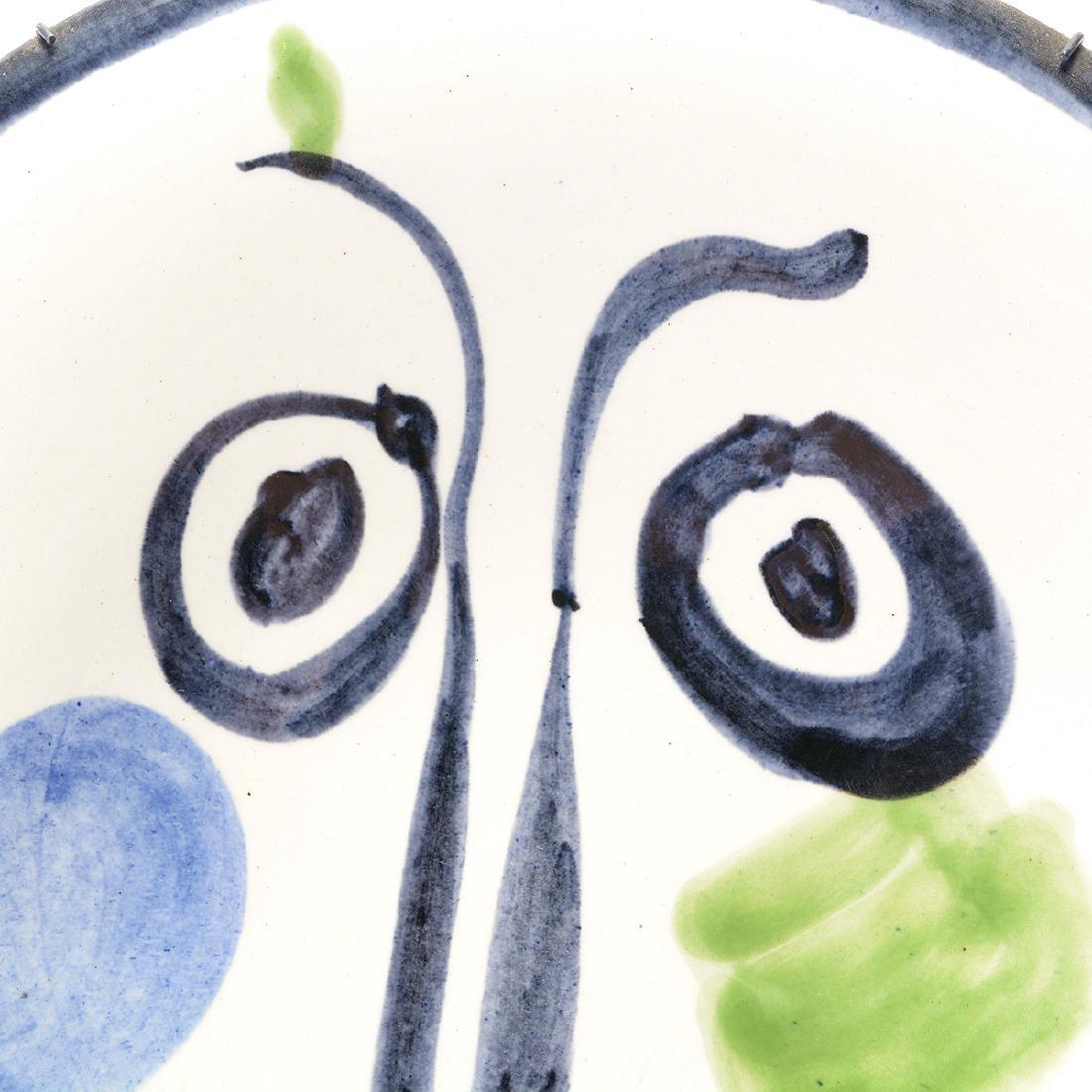 Pablo Picasso, Face No. 197, Madoura 115/300 - 2