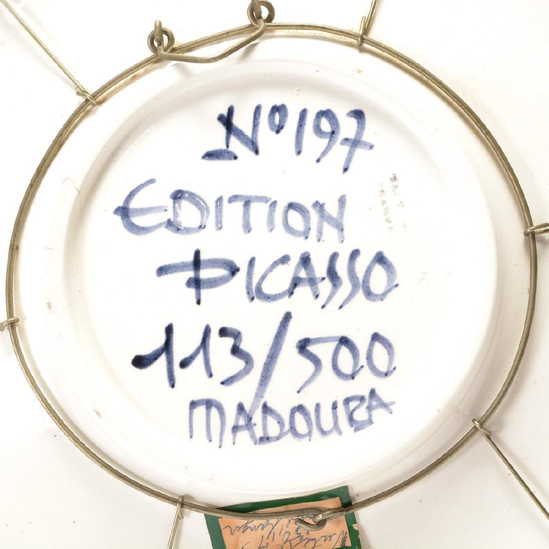 Pablo Picasso, Face No. 197, Madoura 115/300 - 5