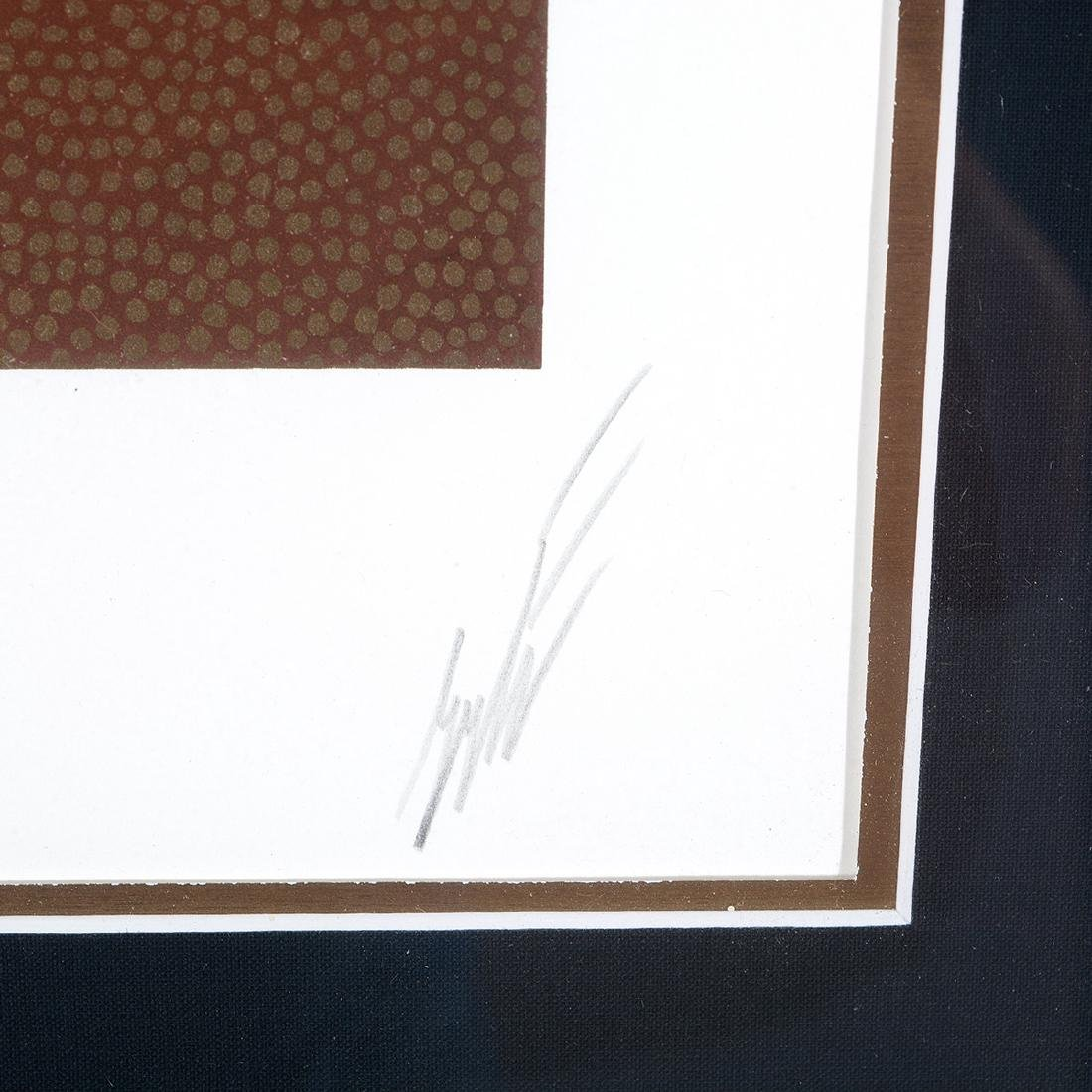 "Erte, two silkscreens, ""Giulietta"" & ""Stage Production"" - 7"