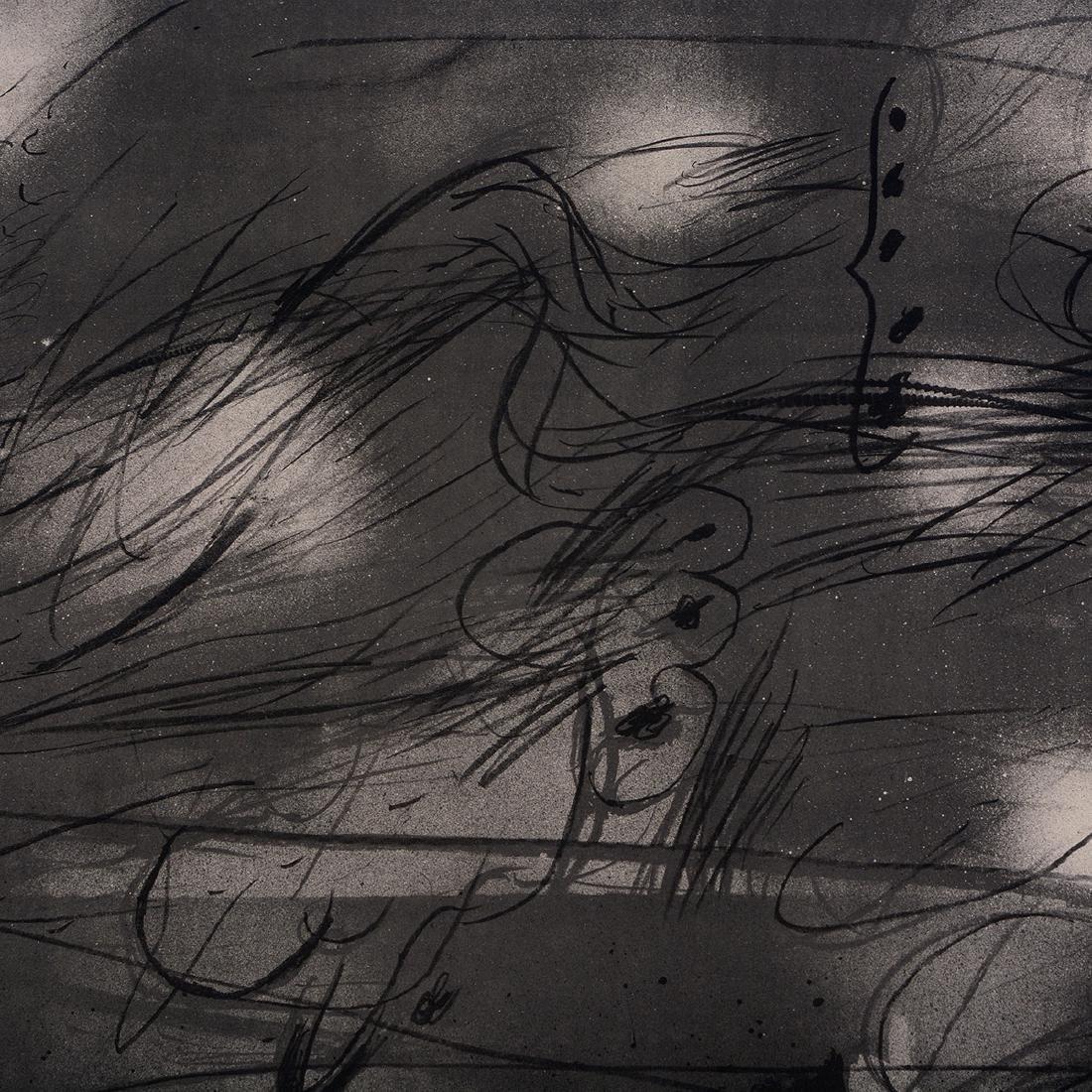 "Antoni T‡pies ""Untitled"" lithograph, Spanish Art - 4"