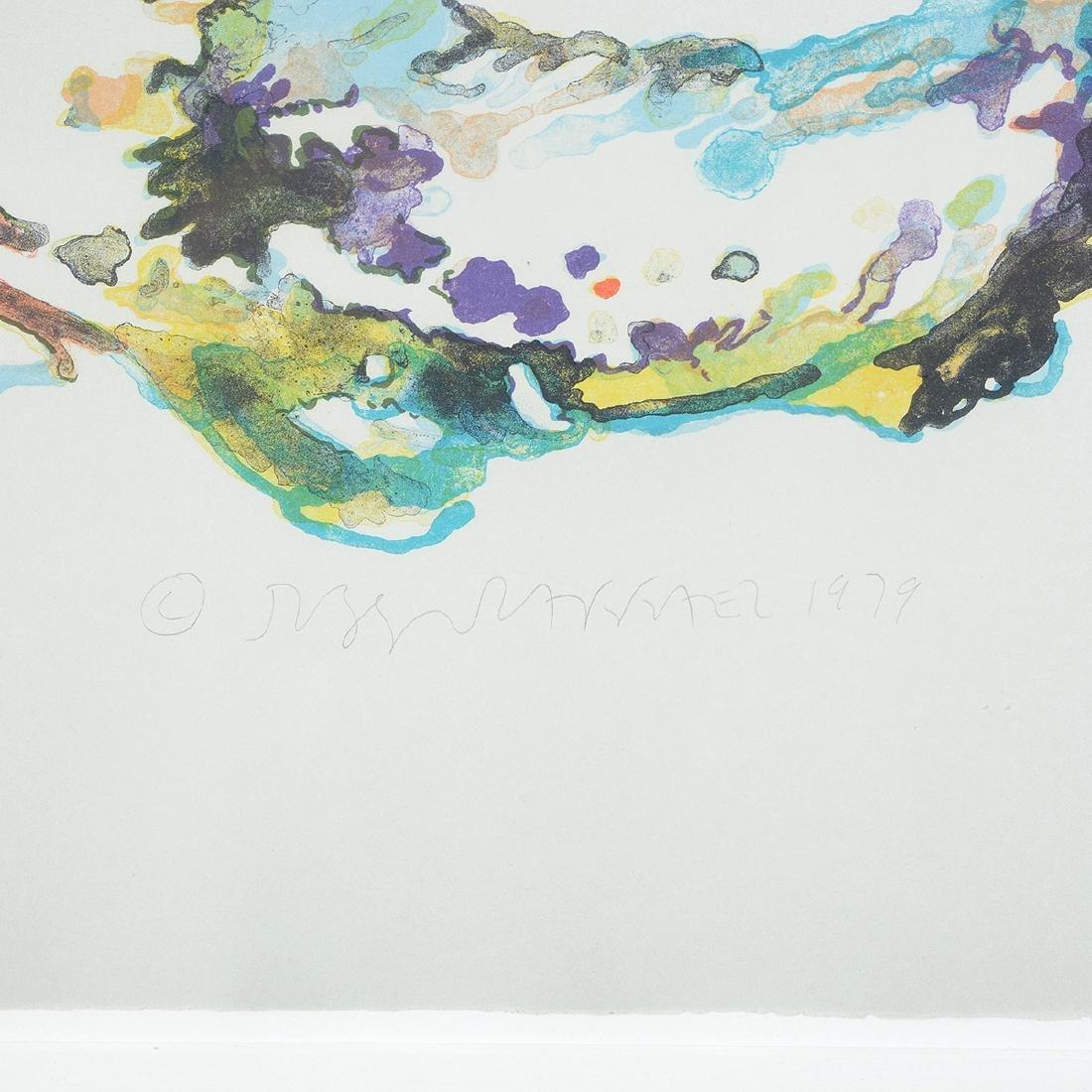 Joseph Raffael, Water lilies & Haiku Fish III lithos - 2