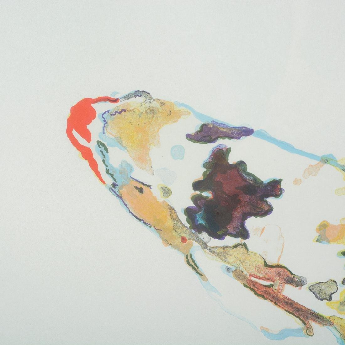 Joseph Raffael, Water lilies & Haiku Fish III lithos - 3