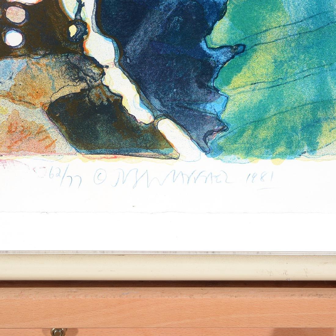 Joseph Raffael, Water lilies & Haiku Fish III lithos - 6