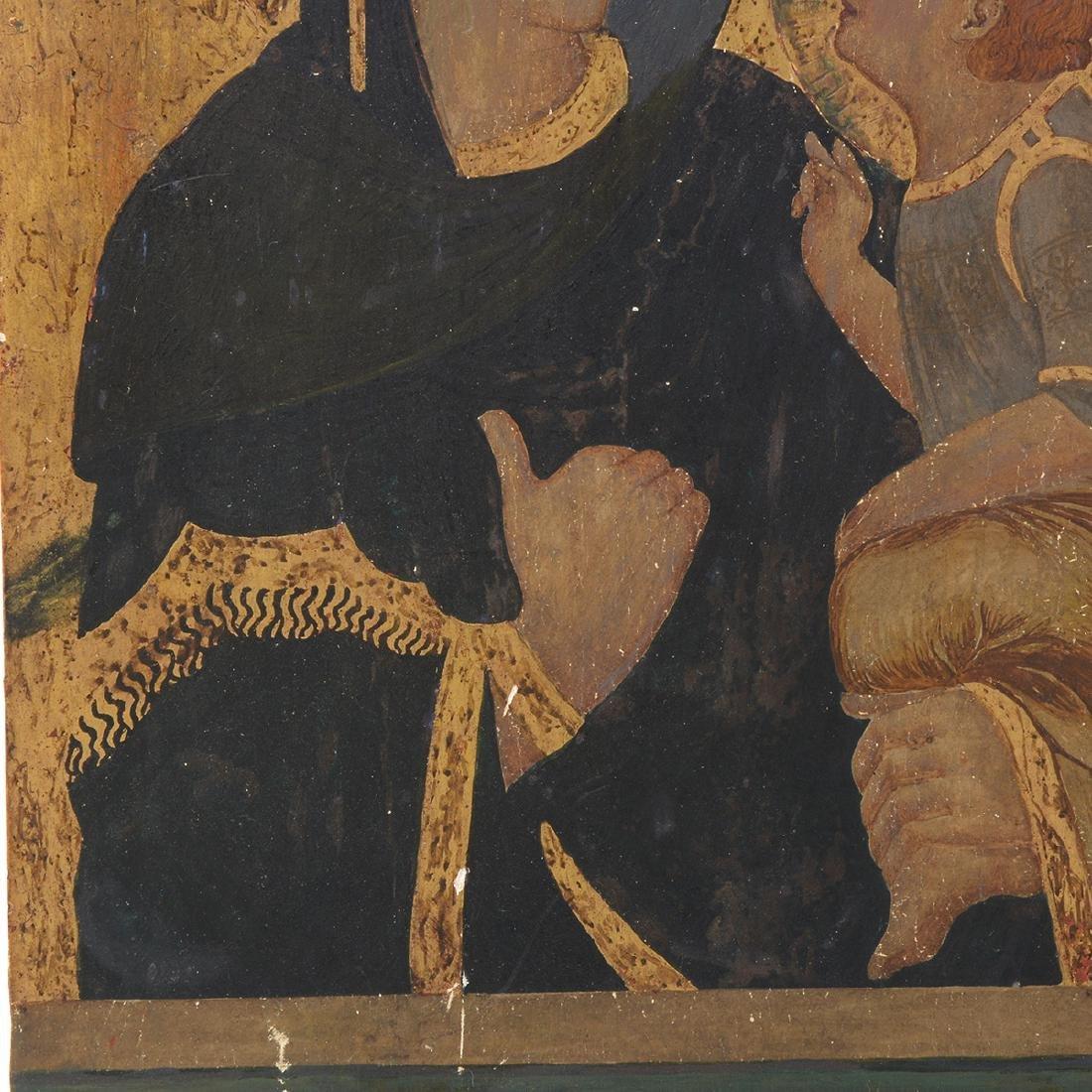 Italian Icon of Madonna and Child - 3
