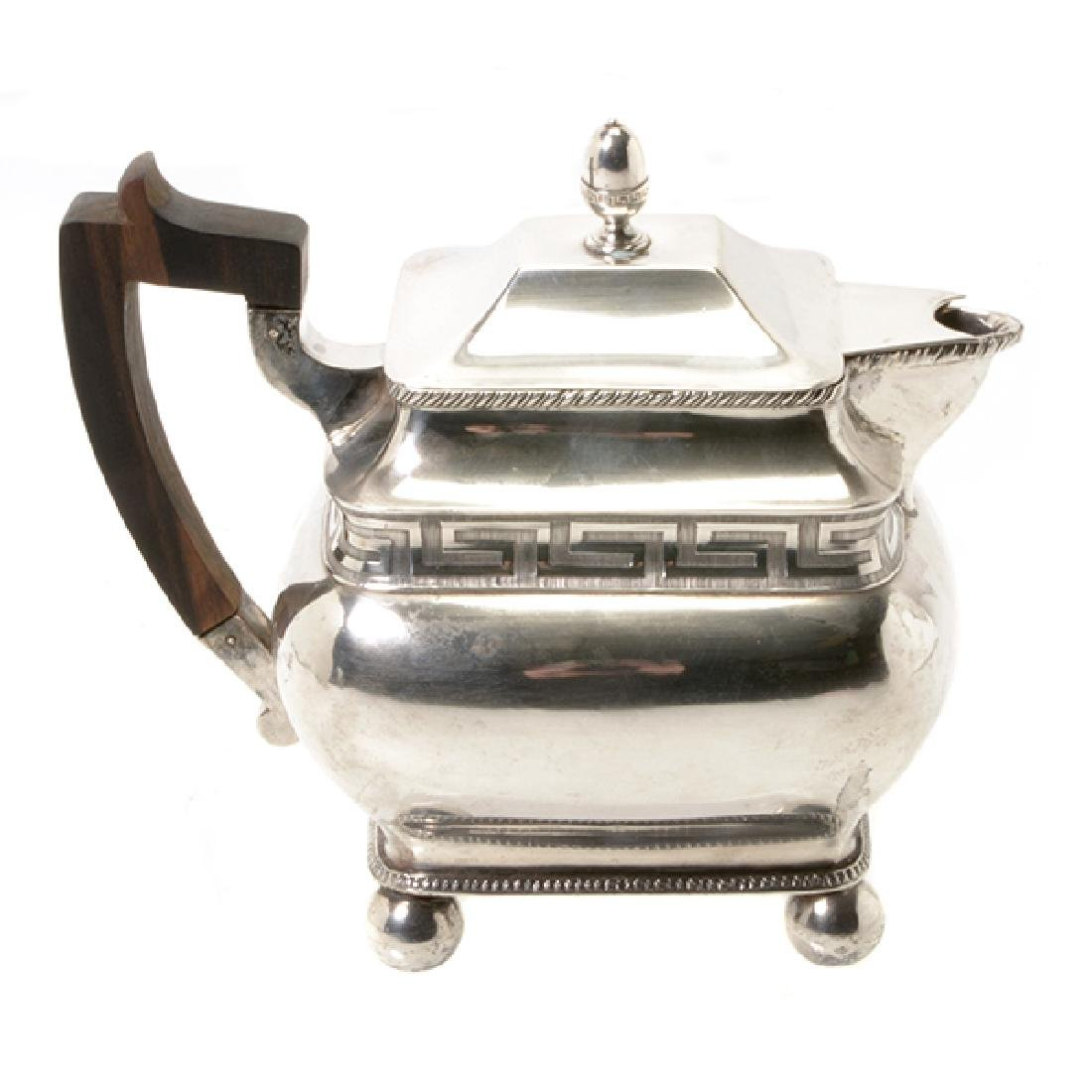 Federal James Black Philadelphia Silver Teapot, c.1795