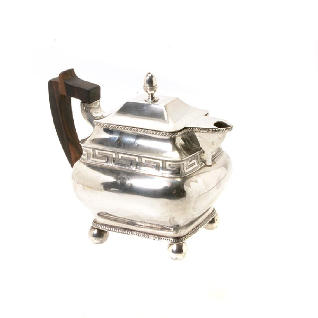 Federal James Black Philadelphia Silver Teapot, c.1795 - 2