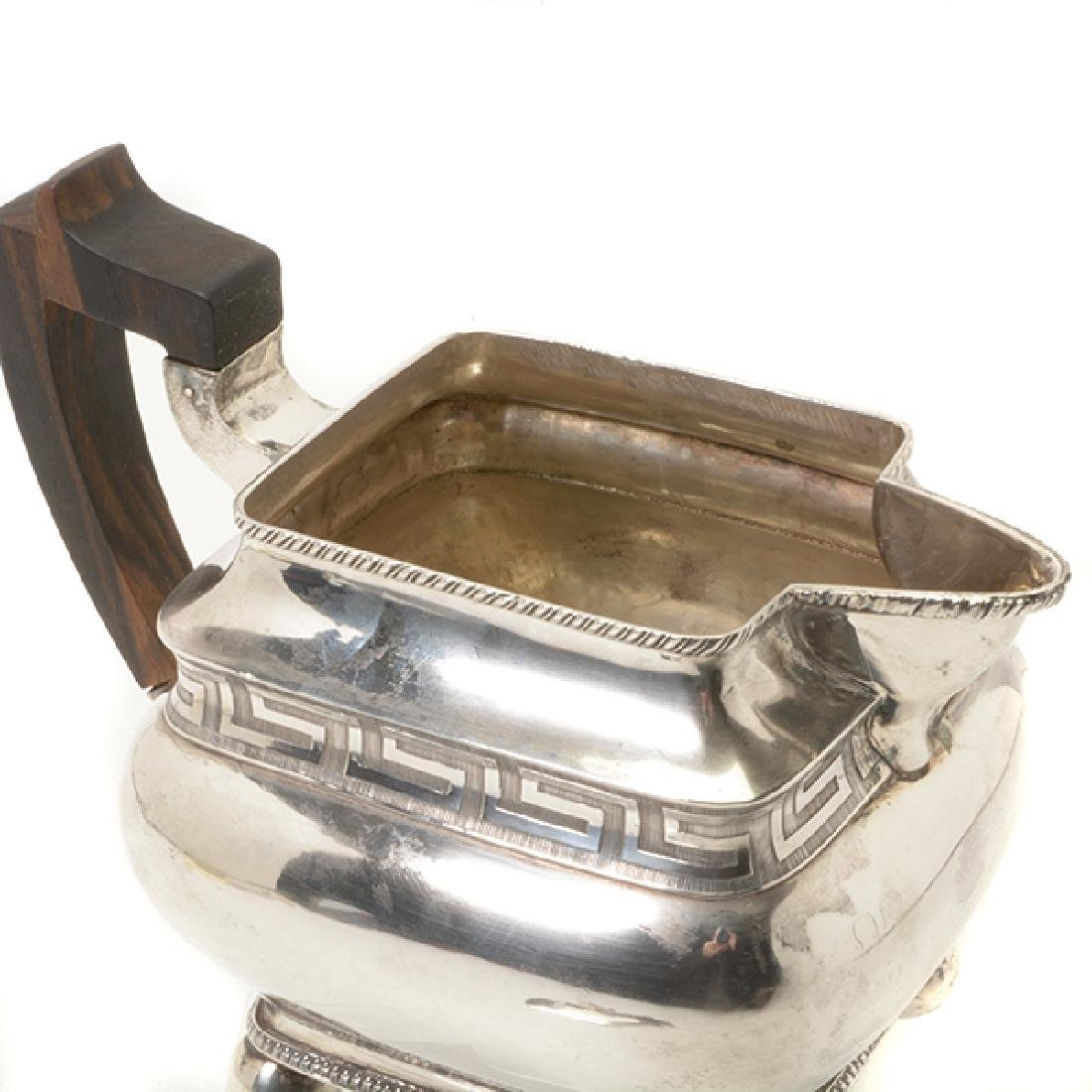 Federal James Black Philadelphia Silver Teapot, c.1795 - 3