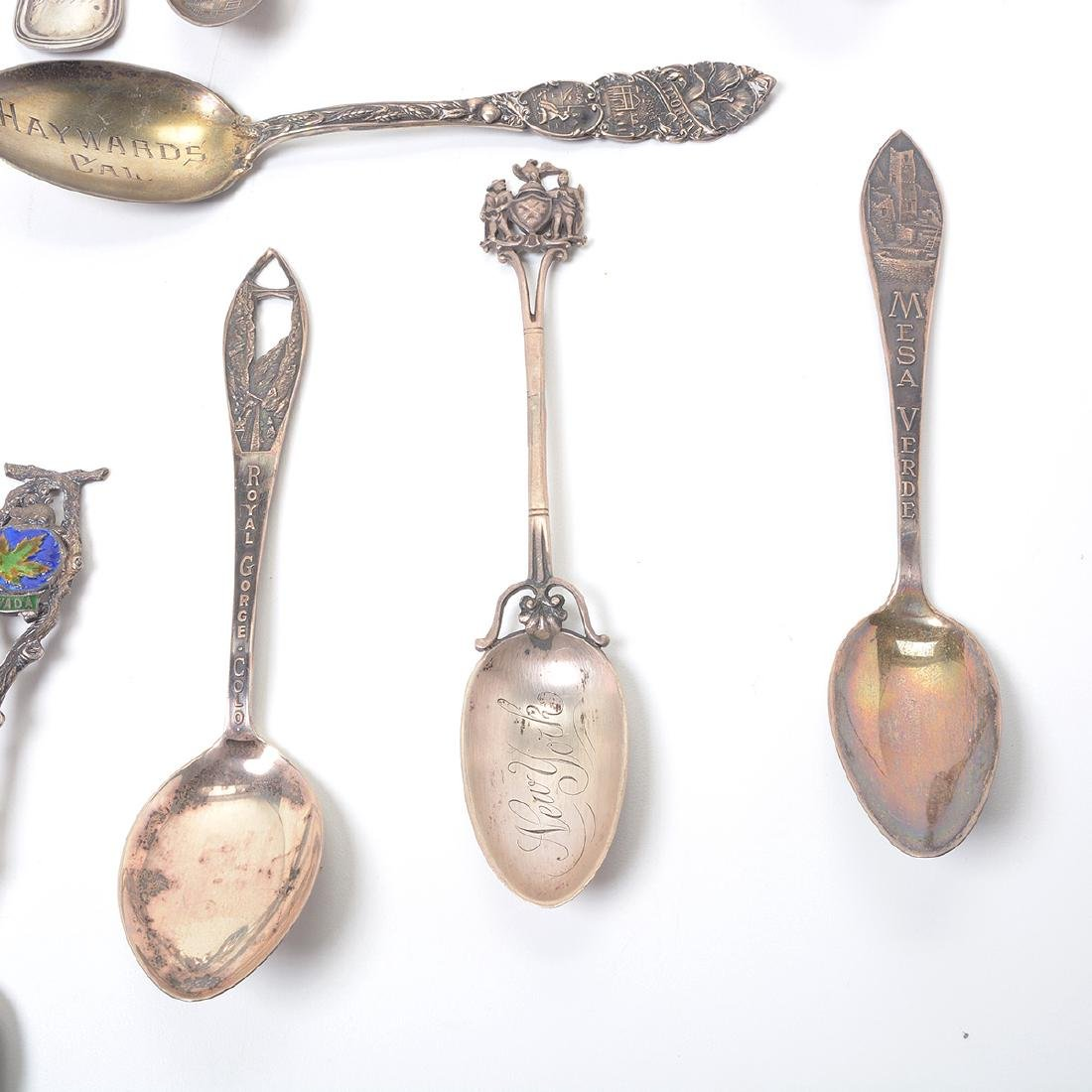 Collection of Assorted Sterling Flatware and Souvenir - 3