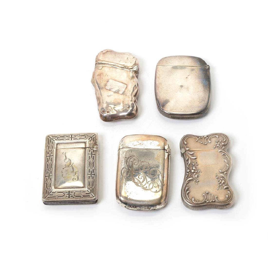 Collection of Silver Personal Articles in the Rococo - 10