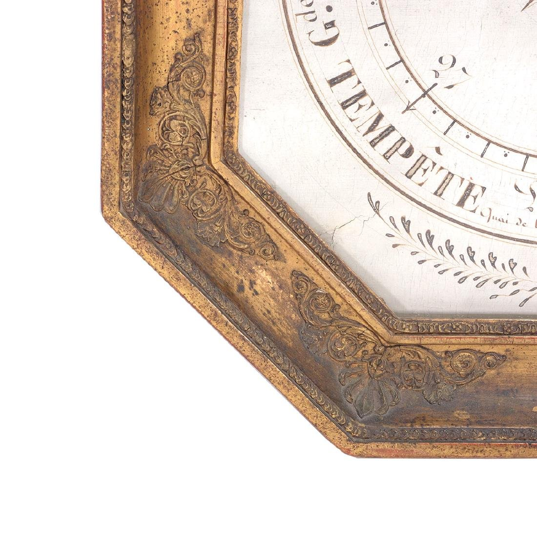 Louis XVI Giltwood Octagonal Barometer - 4