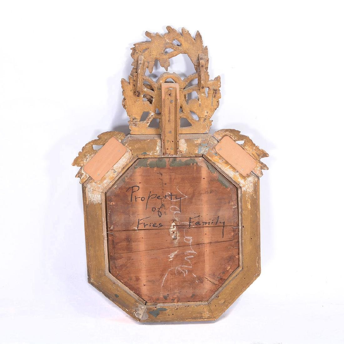 Louis XVI Giltwood Octagonal Barometer - 5