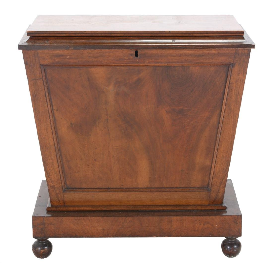 Regency Mahogany Sarcophagus Form Chest, First Quarter
