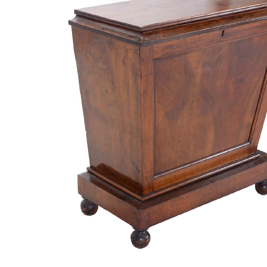 Regency Mahogany Sarcophagus Form Chest, First Quarter - 2