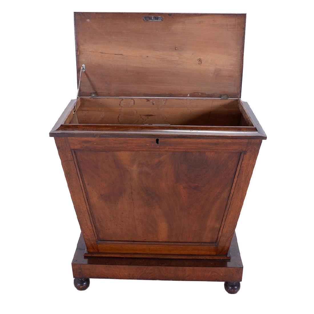 Regency Mahogany Sarcophagus Form Chest, First Quarter - 3